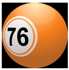 liten orange keno boll